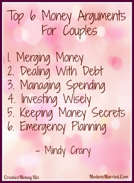 how to solve money arguments in relationships, marriage, couples, love, trust