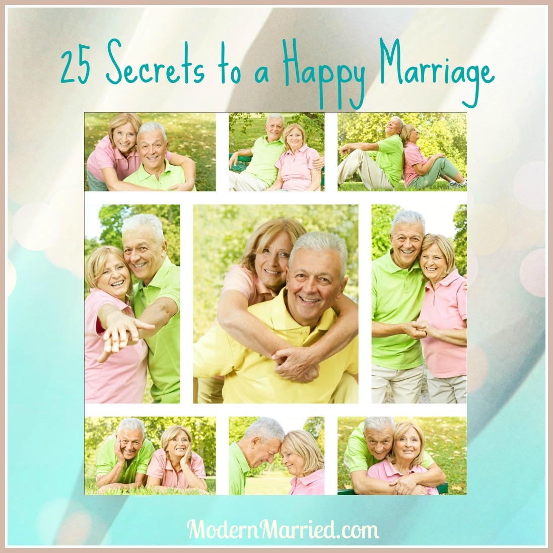 marriage advice for newlyweds, secrets to a happy marraige