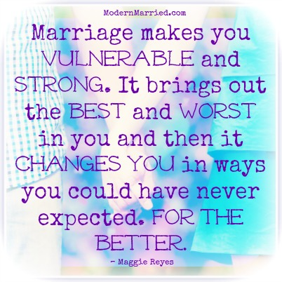 brene brown, marriage makes you vulnerable and strong, marriage quote