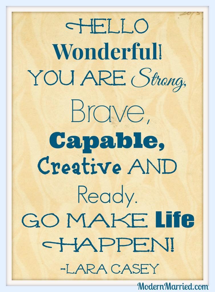 lara casey, maggie reyes, inspirational quote