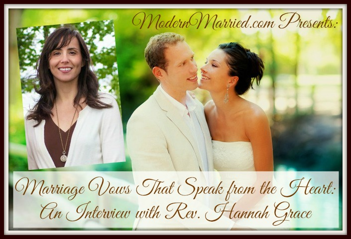 Sophisticated Contemporary Wedding Ceremony In: Marriage Vows That Speak From The Heart