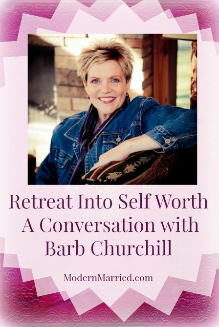 barb burns churchill, interview, retreat in minnesota, spiritual retreat, learning to breathe, marriage, love inspiration