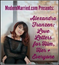 Alexandra Franzen what I know about love