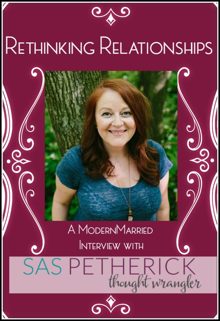 Sas Petherick Interview on ModernMarried.com