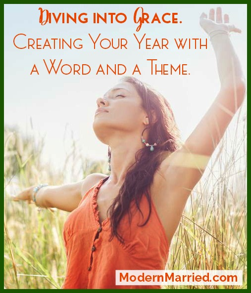 diving into grace creating your year with a word and a theme modernmarried.com