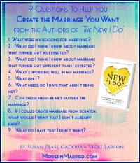 the new I do book - create the marriage you want