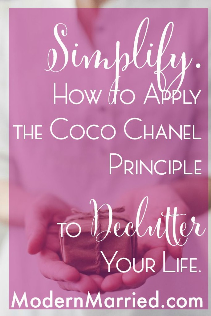 coco chanel remove one accessory quote