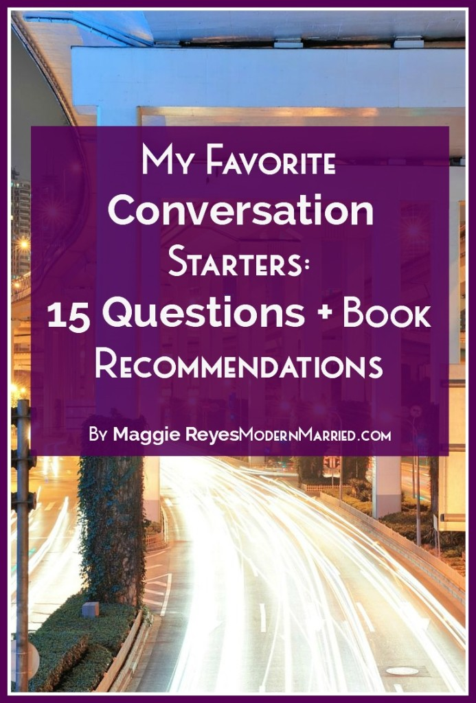 conversation starters list of 15 questions