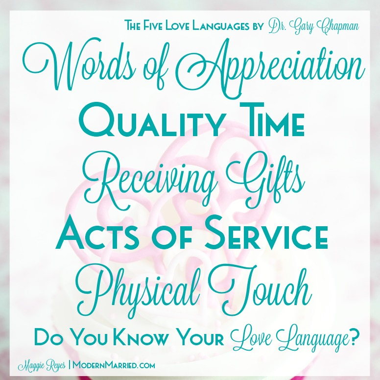 gary chapman five love languages 5 love languages