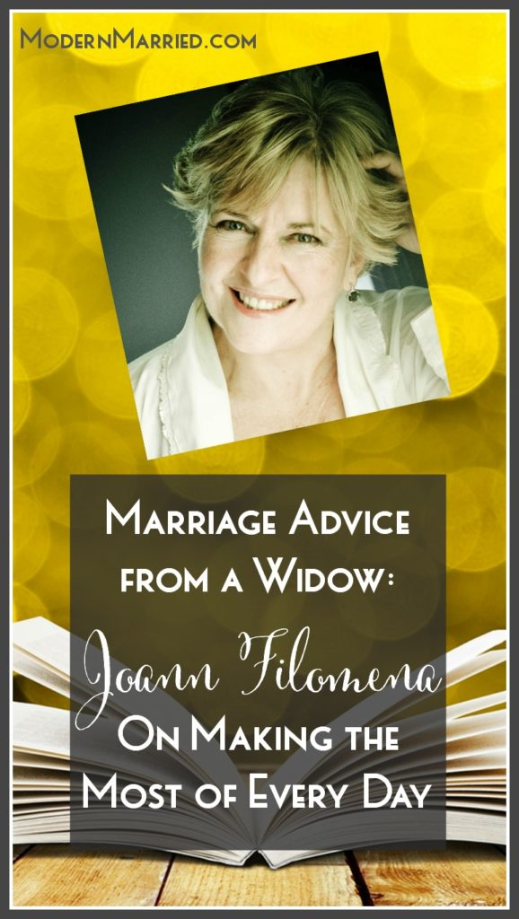 Life Coach for Widows Joann Filomena, Widocast Podcast Host Interview, This is Us Podcast Host Interview